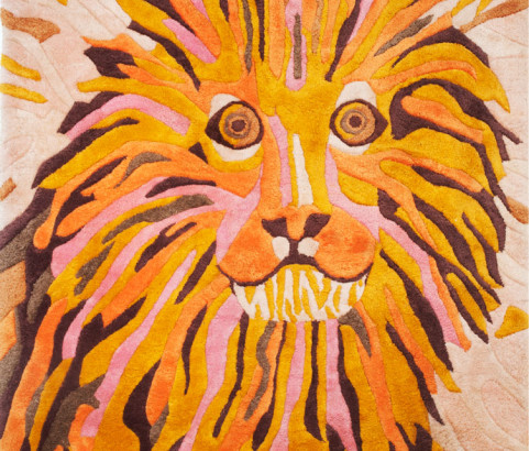 Lion Rug, 2nd Reproduction